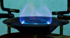 Feuer für das Kochen Stockfotografie