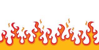 Feuer-Flammen stock abbildung