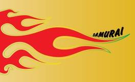 Feuer-Flammen Stockfoto