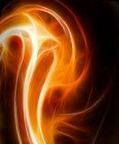 Feuer Fractalabbildung lizenzfreie abbildung