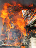 Feuer-Frontseite Stockbild