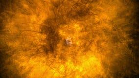 Feuer-Glühen-Hintergrund stock abbildung