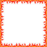 Feuer-Grenze Stockfoto