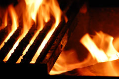 Feuer-Grill Lizenzfreie Stockfotografie