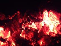 Feuer heißes Kohlenfeuerjahr Lizenzfreies Stockbild