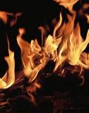 Feuer hell Stockfoto