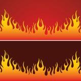Feuer-Hintergrund Stockfotos