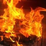 Feuer Hintergrund Foto de archivo libre de regalías
