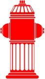 Feuer-Hydrant lizenzfreie abbildung