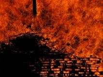 Feuer II Stockfotografie