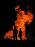 Feuer III Stockbilder