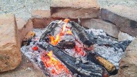 Feuer im Freien Lizenzfreies Stockbild