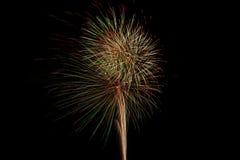 Feuer im Himmel Stockfoto