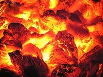 Feuer im Ofen Lizenzfreie Stockbilder