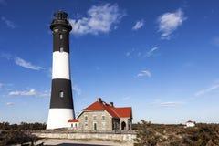 Feuer-Insel-Leuchtturm Lizenzfreie Stockfotografie