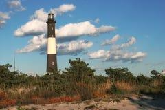 Feuer-Insel-Leuchtturm Lizenzfreie Stockfotos
