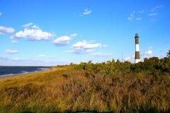 Feuer-Insel-Leuchtturm Lizenzfreie Stockbilder