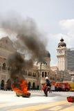 Feuer-Kämpfer-Tag 2011 Lizenzfreies Stockfoto