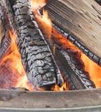 Feuer-Klotz Lizenzfreie Stockbilder