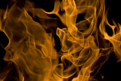 Feuer, Liebesflammen stockfotografie