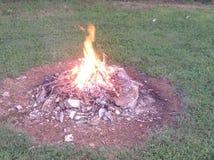 Feuer nachts Stockbilder