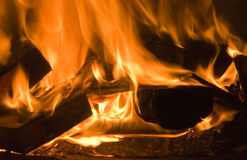 Feuer-Platz lizenzfreies stockfoto