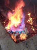 Feuer-Regenbogen Lizenzfreie Stockfotos