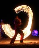 Feuer-Show Lizenzfreie Stockfotos