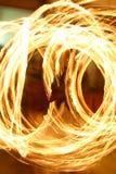 Feuer-Strudel Lizenzfreie Stockbilder