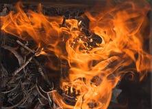 Feuer und Asche Lizenzfreies Stockfoto