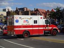 Feuer und EMS-Einheit Stockfoto