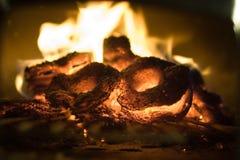 Feuer und Flammen Stockfoto