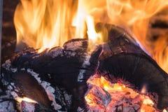 Feuer und Glut stockbilder