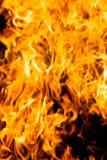 Feuer und Hitze Stockfoto