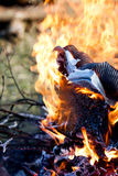 Feuer und Hitze Lizenzfreies Stockfoto