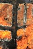Feuer und Hitze Stockbilder