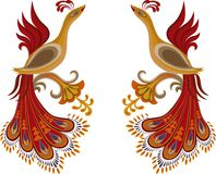 Feuer-Vogel Lizenzfreies Stockbild