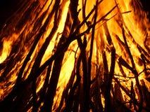 Feuer von St.Martinsday 1 Stockbild