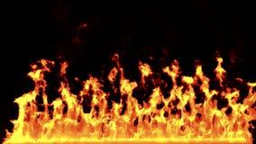 Feuer-Wand stock abbildung