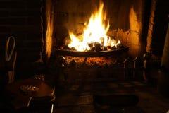 Feuer zu Hause Stockfoto