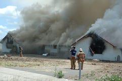 Feuerbekämpfung 2 Stockfotografie