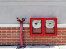 Feuerbekämpfungs-Ausrüstung Stockbild