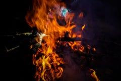 Feuerbeschaffenheit Lizenzfreies Stockfoto