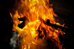 Feuerbeschaffenheit Lizenzfreie Stockfotos