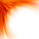 Feuerblumenrandhintergrund Stockbild