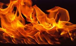 Feuerelement mit Wandform Lizenzfreie Stockfotografie