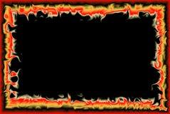 Feuerfeld Lizenzfreie Stockbilder