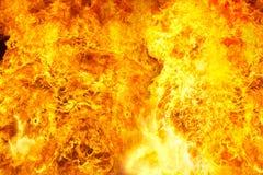 Feuerflamme Stockfoto