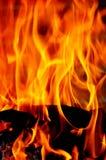 Feuerflammen Stockfotos