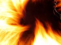 Feuerflammen lizenzfreie abbildung